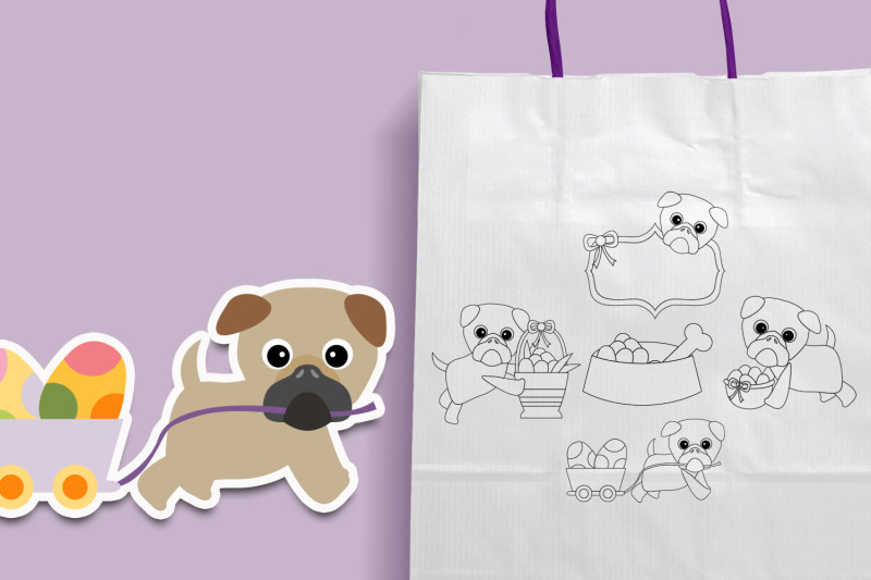 pug-easter-illustration-graphics
