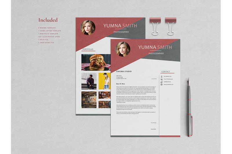 yumna-resume-template