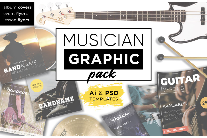 musician-graphic-pack