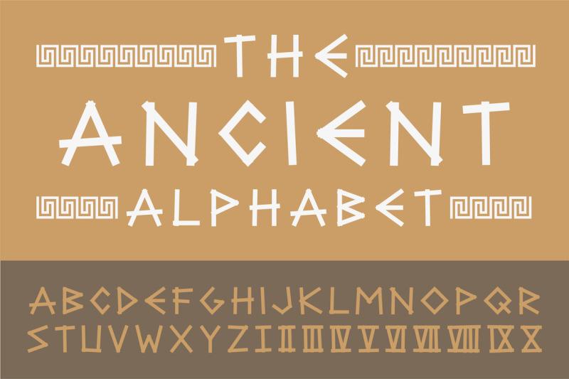 ancient-english-creative-alphabet