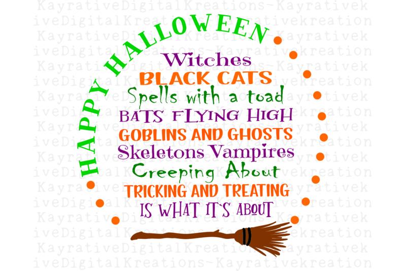 Happy Halloween Svg By Kayrativedigital Thehungryjpeg Com