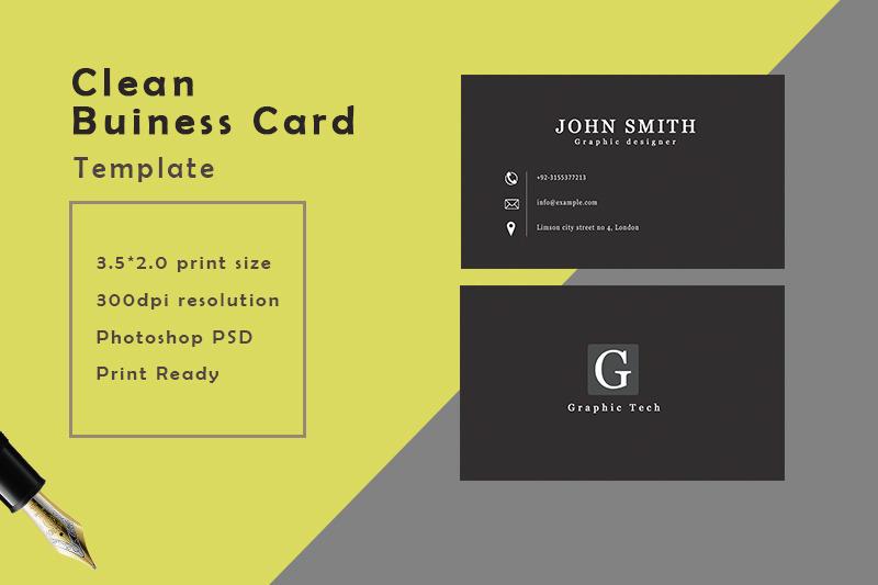 black-business-card-template