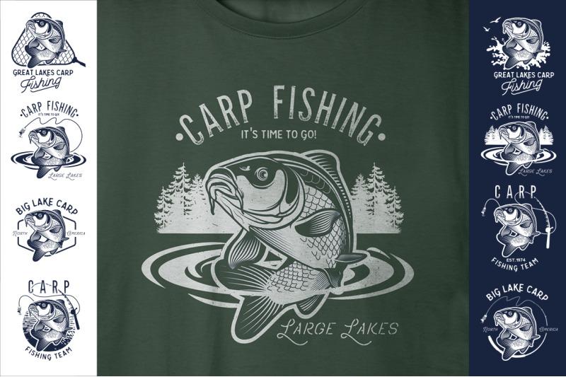 vintage-carp-fishing-logos
