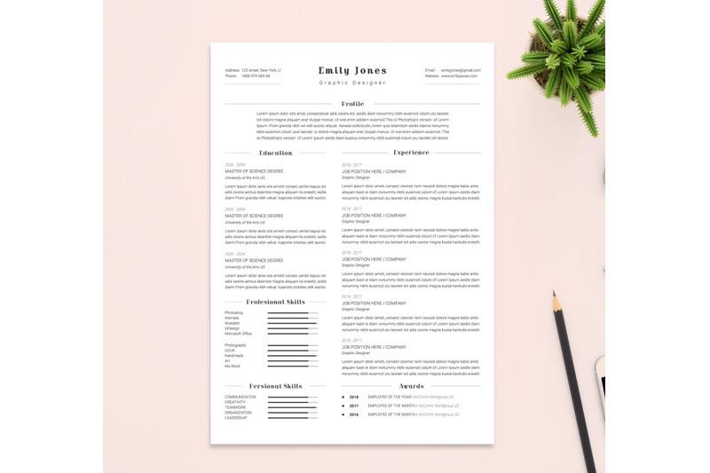 resume-amp-coverletter-template