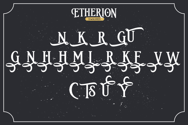 etherion-vintage-display-font