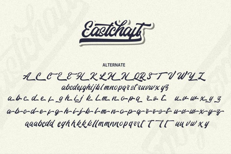 eastchaft-script-font
