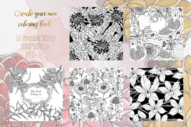floral-anti-stress-coloring-book-for-adults