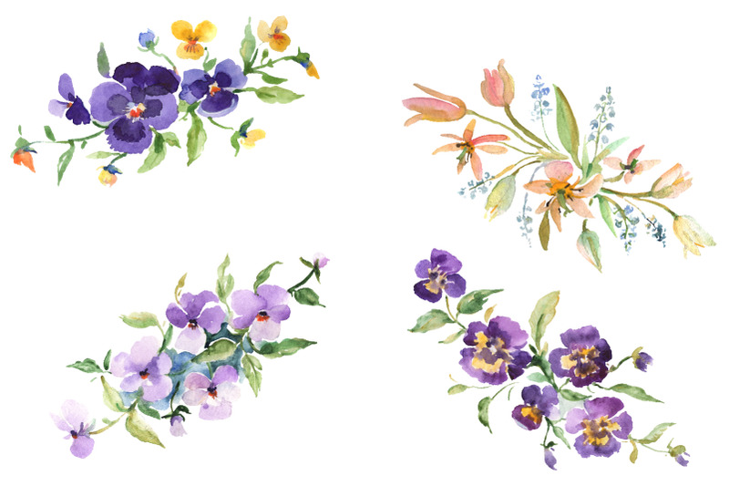 bouquet-exotic-watercolor-png