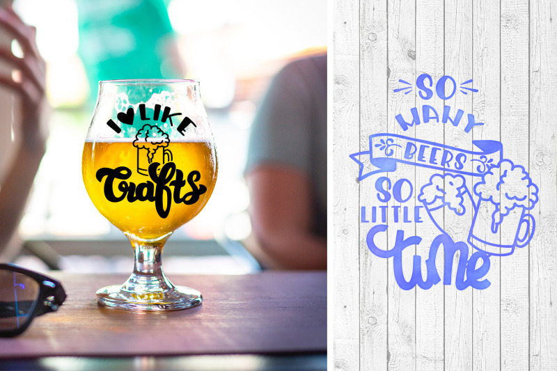 Beer Svg Bundle Alcohol Quotes Set Of 20 Quotes By Svg Story
