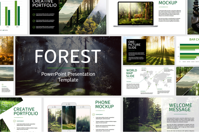 forest-powerpoint-template
