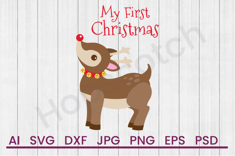 my-first-christmas-svg-file-dxf-file
