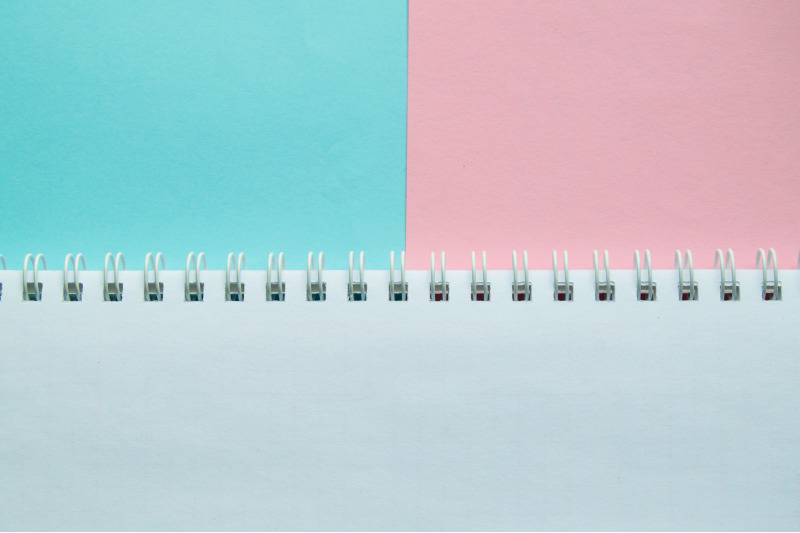 blue-and-pink-pastel-color-paper-geometric-flat-lay-two-backgrounds-si