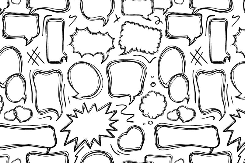 speech-bubbles-doodle-set