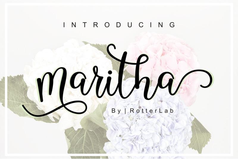 maritha-script