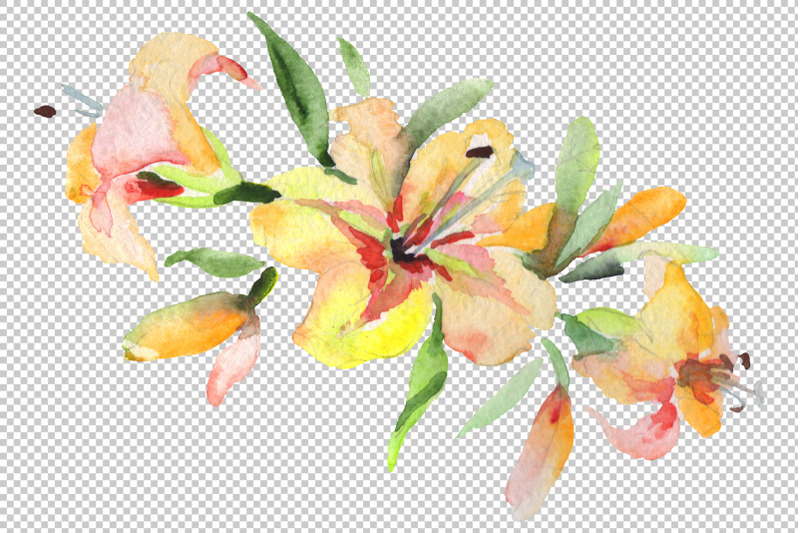 bouquet-spring-wind-watercolor-png