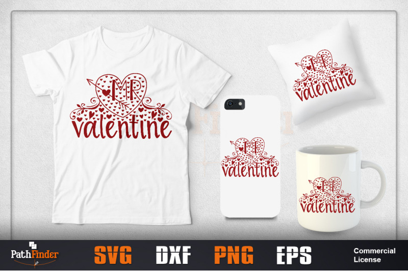 Valentine S Day Svg Design Bundle By Pathfinder Thehungryjpeg Com