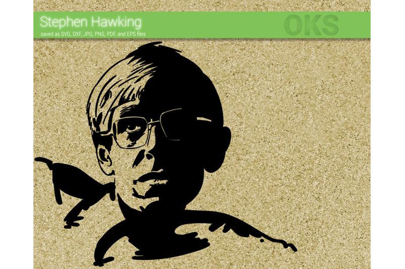 stephen-hawking-svg-svg-files-vector-clipart-cricut-download