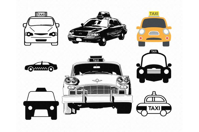 taxi-svg-svg-files-vector-clipart-cricut-download