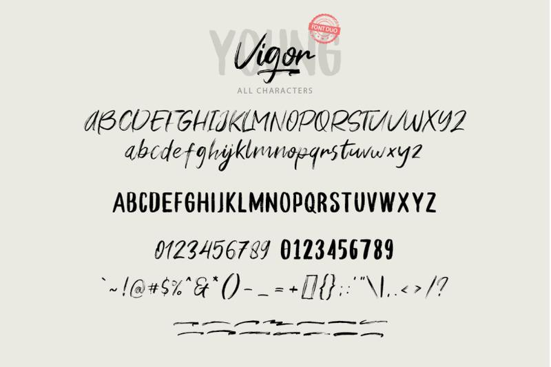 young-vigor-font-duo