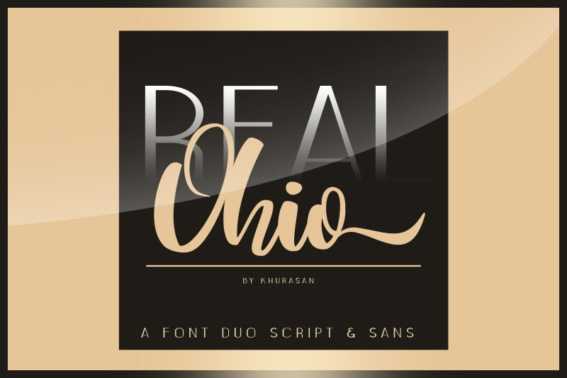 real-ohio-font-duo