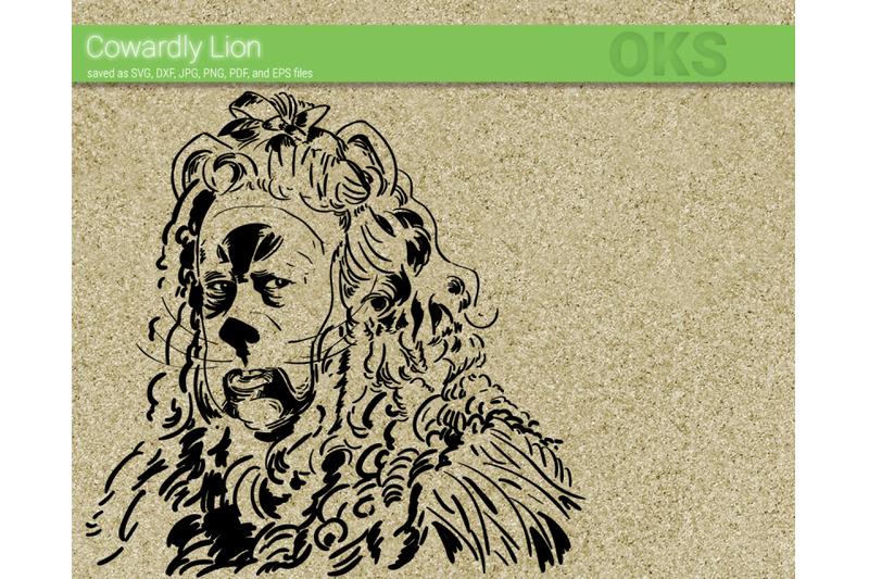 cowardly-lion-svg-wizard-of-oz-svg-files-vector-clipart-cricut-do