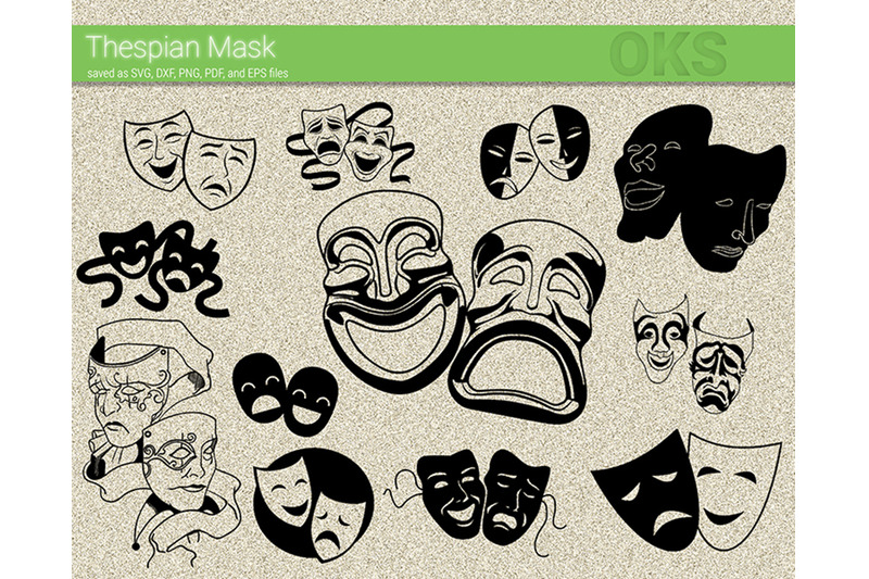 thespian-mask-svg-svg-files-vector-clipart-cricut-download