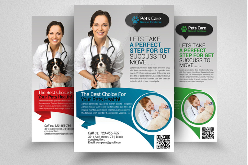 pet-care-amp-clinic-flyer-template