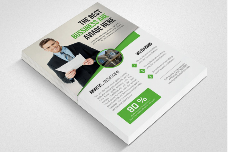 Real Estate Agent Flyer Template By Designhub