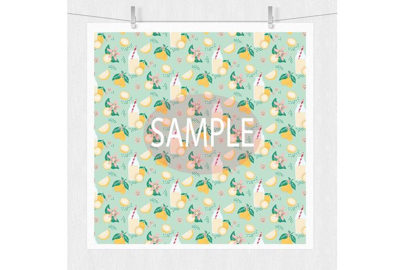 spring-showers-digital-paper