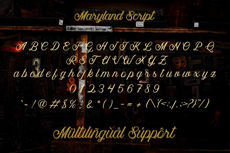 maryland-font-family