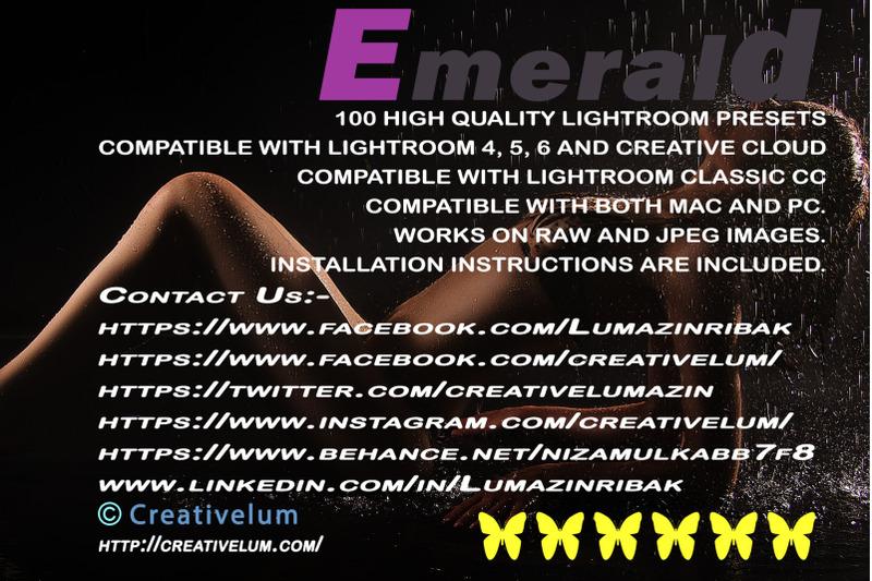 100-emerald-lightroom-presets