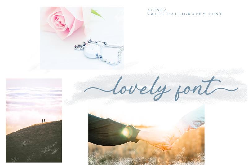 alisha-sweet-calligraphy-font