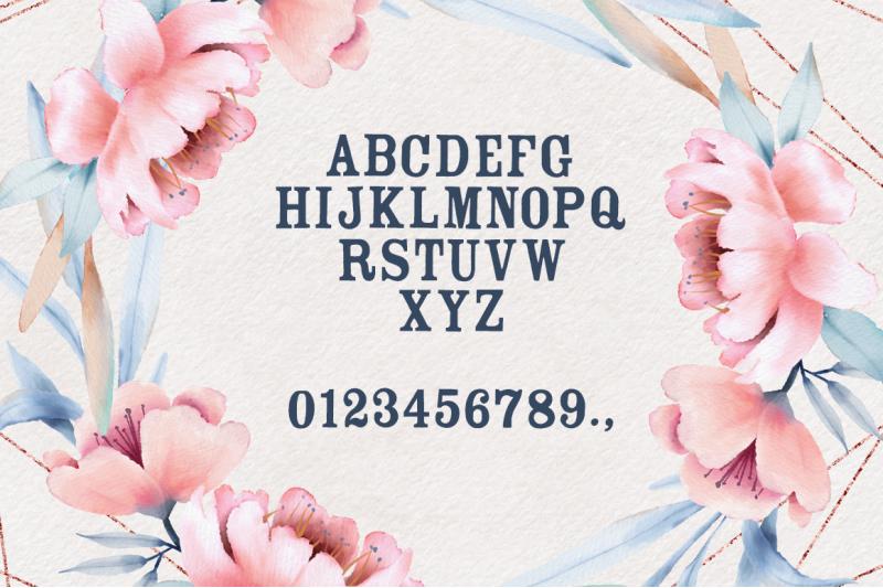 the-floralist-font