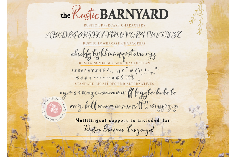 the-rustic-barnyard-font-collection
