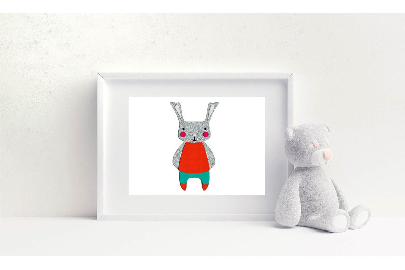bunny-machine-embroidery-design-animals-easter-3-sizes