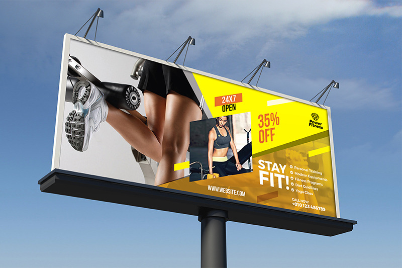 fitness-billboard-template