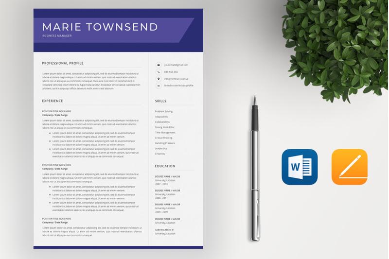 resume-template-cv-cover-letter
