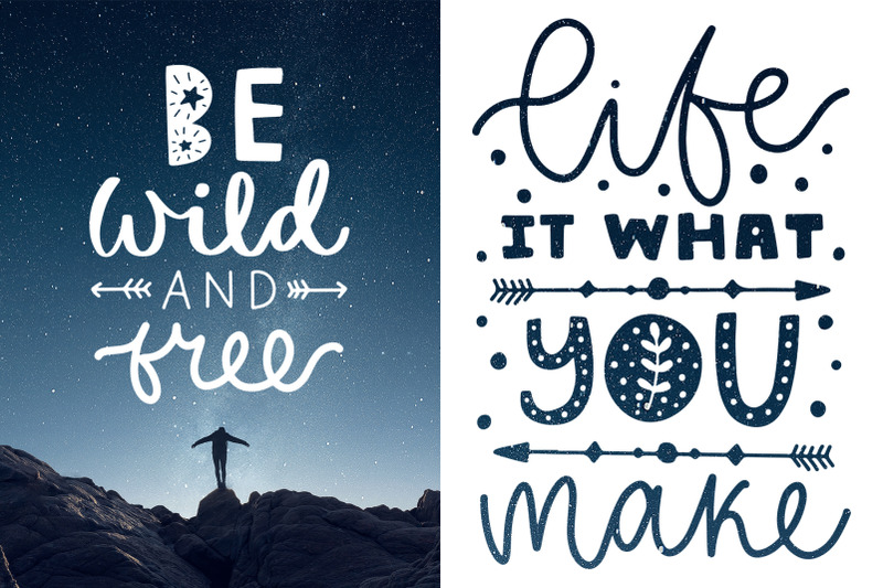 50-lettering-posters-collection
