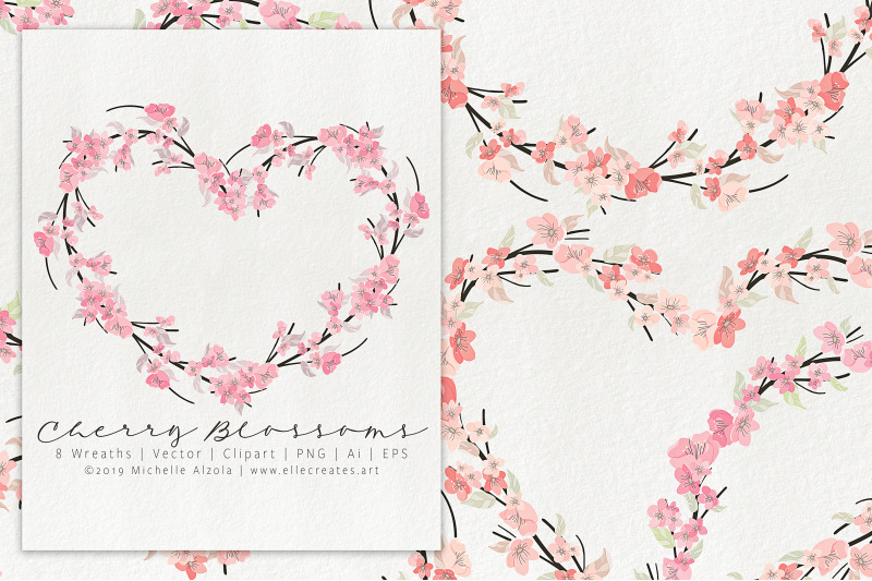 cherry-blossoms-04-pink-and-peach-wreaths