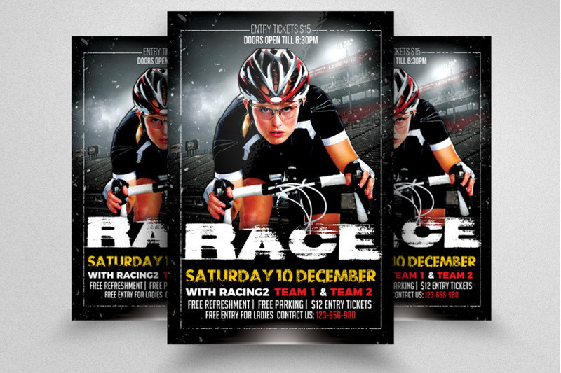 bicycle-racing-tournament-flyer