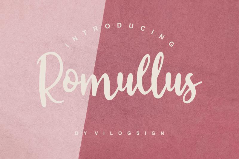 romullus-playful-script-font