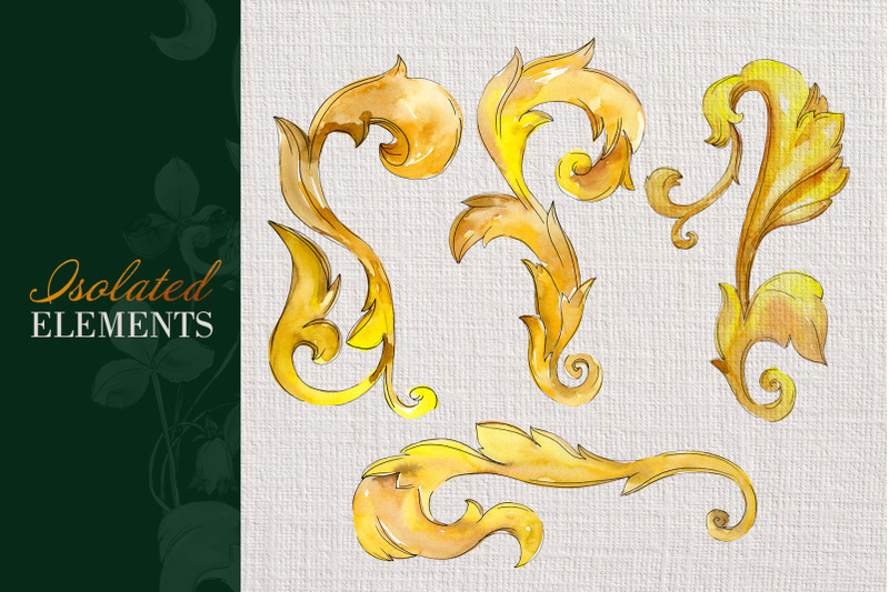 gold-super-monograms-watercolor-png