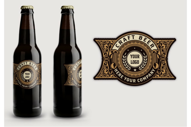 vintage-style-beer-label-layout
