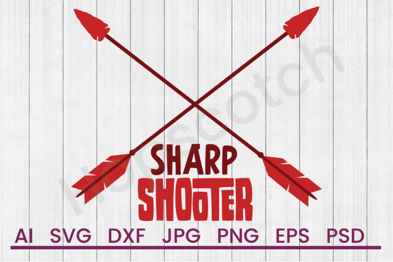 sharp-shooter-svg-file-dxf-file