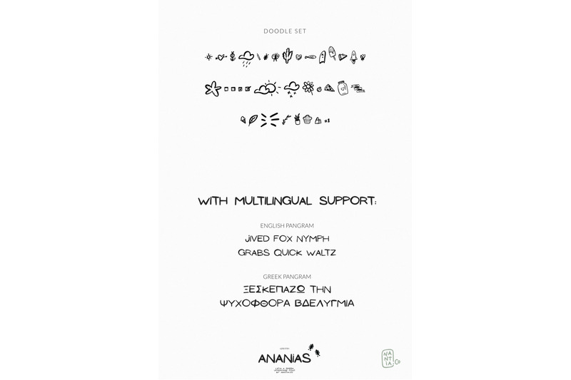 ananias-doodle-font