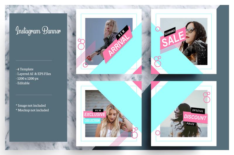 4-social-media-banner-template