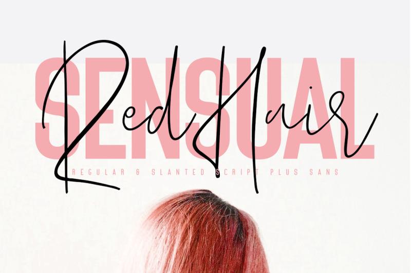 red-hair-sensual-free-sans-serif