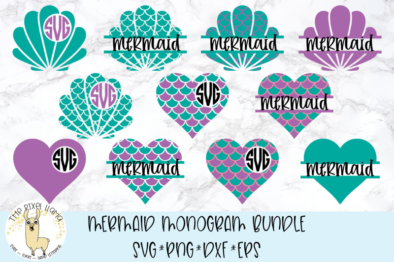 mermaid-monograms-svg