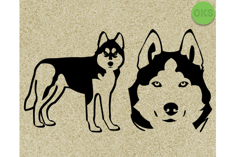 Download husky svg, dog svg files, vector, clipart, cricut ...