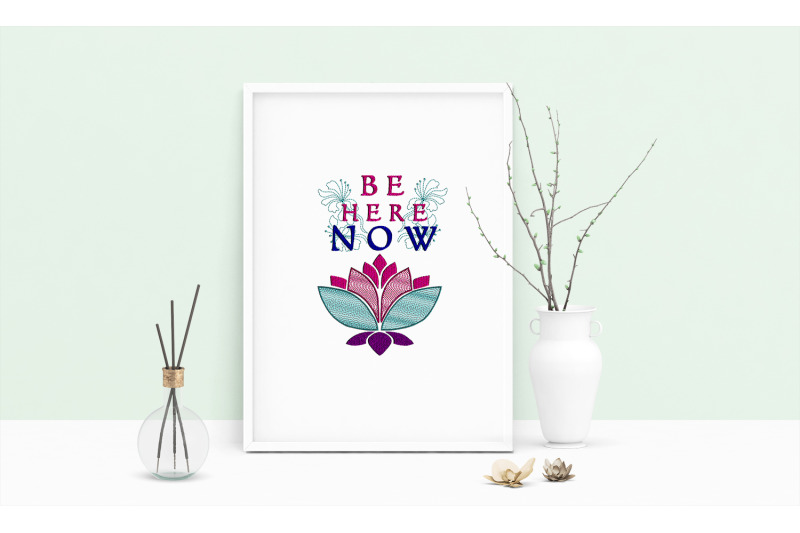 machine-embroidery-design-saying-be-here-now-wall-art-decor